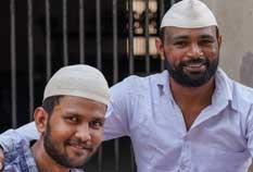 Baburam and Sunil