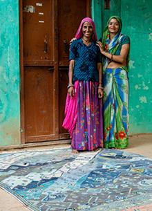 artisan-originals-steel-blue-paradise-green-rug1083956