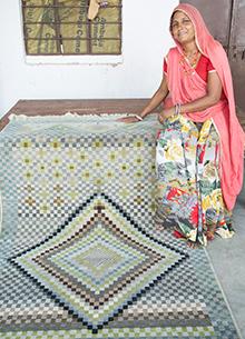 artisan-originals-classic-gray-lime-green-rug1083991