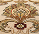 Jaipur Rugs - Hand Knotted Wool and Silk Ivory QNQ-16 Area Rug Closeupshot - RUG1055227