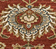 Jaipur Rugs - Hand Knotted Wool Red and Orange CX-2664 Area Rug Closeupshot - RUG1081543