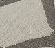 Jaipur Rugs - Flat Weave Wool Ivory DW-103 Area Rug Closeupshot - RUG1101797