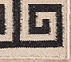 Jaipur Rugs - Flat Weave Wool Ivory DW-113 Area Rug Closeupshot - RUG1083022