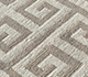 Jaipur Rugs - Flat Weave Wool Ivory DW-113 Area Rug Closeupshot - RUG1105004
