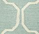 Jaipur Rugs - Flat Weave Wool Blue DW-119 Area Rug Closeupshot - RUG1038727