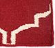 Jaipur Rugs - Flat Weaves Wool Red and Orange DW-119 Area Rug Closeupshot - RUG1060327