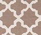 Jaipur Rugs - Flat Weaves Wool Beige and Brown DW-138 Area Rug Closeupshot - RUG1038778