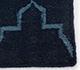 Jaipur Rugs - Flat Weave Wool Blue DW-162 Area Rug Closeupshot - RUG1060324