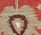 Jaipur Rugs - Flat Weaves Wool Red and Orange DW-61 Area Rug Closeupshot - RUG1101345