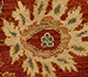 Jaipur Rugs - Hand Knotted Wool Red and Orange EPR-17 Area Rug Closeupshot - RUG1022743