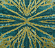 Jaipur Rugs - Hand Knotted Wool and Bamboo Silk Green ESK-400 Area Rug Closeupshot - RUG1072359
