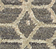 Jaipur Rugs - Hand Knotted Wool and Bamboo Silk Beige and Brown ESK-9012 Area Rug Closeupshot - RUG1082847