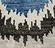Jaipur Rugs - Hand Knotted Wool Blue LCA-09 Area Rug Closeupshot - RUG1055153