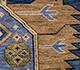 Jaipur Rugs - Hand Knotted Wool Blue LCA-2351 Area Rug Closeupshot - RUG1101178