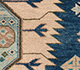 Jaipur Rugs - Hand Knotted Wool Blue LCA-2351 Area Rug Closeupshot - RUG1101179