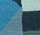Jaipur Rugs - Hand Tufted Wool and Viscose Blue LEQ-32 Area Rug Closeupshot - RUG1081563