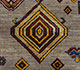 Jaipur Rugs - Hand Knotted Wool Beige and Brown LES-217 Area Rug Closeupshot - RUG1077900