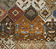 Jaipur Rugs - Hand Knotted Wool and Bamboo Silk Grey and Black LES-239 Area Rug Closeupshot - RUG1080095