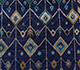 Jaipur Rugs - Hand Knotted Wool and Bamboo Silk Blue LES-275 Area Rug Closeupshot - RUG1083968