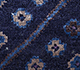 Jaipur Rugs - Hand Knotted Wool and Bamboo Silk Blue LES-288 Area Rug Closeupshot - RUG1084011