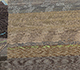 Jaipur Rugs - Hand Knotted Wool and Bamboo Silk Grey and Black LES-322 Area Rug Closeupshot - RUG1086017
