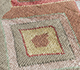 Jaipur Rugs - Hand Knotted Wool and Bamboo Silk Red and Orange LES-416 Area Rug Closeupshot - RUG1093553