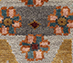 Jaipur Rugs - Hand Knotted Wool and Bamboo Silk Grey and Black LES-449 Area Rug Closeupshot - RUG1092467