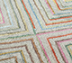 Jaipur Rugs - Hand Knotted Wool and Bamboo Silk Ivory LES-476 Area Rug Closeupshot - RUG1093571