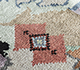 Jaipur Rugs - Hand Knotted Wool and Bamboo Silk Ivory LES-481 Area Rug Closeupshot - RUG1093558