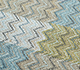 Jaipur Rugs - Hand Knotted Wool and Bamboo Silk Grey and Black LES-493 Area Rug Closeupshot - RUG1093907