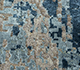 Jaipur Rugs - Hand Knotted Wool and Bamboo Silk Grey and Black LRB-1545 Area Rug Closeupshot - RUG1104759