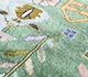Jaipur Rugs - Hand Knotted Silk Blue LSL-302 Area Rug Closeupshot - RUG1092457