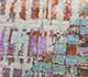 Jaipur Rugs - Hand Knotted Wool and Bamboo Silk Ivory LU-02 Area Rug Closeupshot - RUG1081277