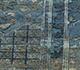 Jaipur Rugs - Hand Knotted Wool and Silk Blue NE-2364 Area Rug Closeupshot - RUG1082229