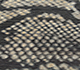 Jaipur Rugs - Hand Knotted Wool and Silk Grey and Black NMS-06 Area Rug Closeupshot - RUG1072207