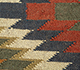 Jaipur Rugs - Flat Weave Jute Red and Orange PDJT-114 Area Rug Closeupshot - RUG1107055