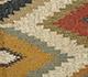 Jaipur Rugs - Flat Weave Jute Red and Orange PDJT-165 Area Rug Closeupshot - RUG1107019