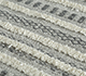 Jaipur Rugs - Flat Weave Synthetic Fiber Grey and Black PDPL-35 Area Rug Closeupshot - RUG1098157