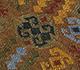 Jaipur Rugs - Flat Weaves Wool Blue PDWL-352 Area Rug Closeupshot - RUG1098472