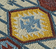 Jaipur Rugs - Flat Weaves Wool Ivory PDWL-353 Area Rug Closeupshot - RUG1098475