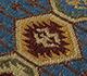Jaipur Rugs - Flat Weave Wool Blue PDWL-353 Area Rug Closeupshot - RUG1098476