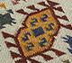 Jaipur Rugs - Flat Weaves Wool Ivory PDWL-356 Area Rug Closeupshot - RUG1098480