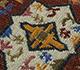 Jaipur Rugs - Flat Weave Wool Ivory PDWL-359 Area Rug Closeupshot - RUG1098481