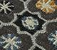Jaipur Rugs - Flat Weave Wool Blue PDWL-451 Area Rug Closeupshot - RUG1098495