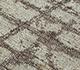 Jaipur Rugs - Hand Loom Wool and Bamboo Silk Red and Orange PHWB-23 Area Rug Closeupshot - RUG1098441
