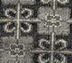 Jaipur Rugs - Hand Knotted Wool Grey and Black PKWL-248 Area Rug Closeupshot - RUG1062512