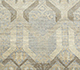 Jaipur Rugs - Hand Knotted Wool and Silk Grey and Black PKWS-454 Area Rug Closeupshot - RUG1070033