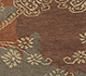 Jaipur Rugs - Hand Knotted Wool and Silk Beige and Brown PKWS-470 Area Rug Closeupshot - RUG1091183