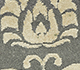 Jaipur Rugs - Hand Knotted Wool and Silk Grey and Black PKWS-472 Area Rug Closeupshot - RUG1090526