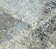 Jaipur Rugs - Hand Knotted Wool and Silk Grey and Black PKWS-483 Area Rug Closeupshot - RUG1110914